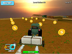 Tractor Farm Parking game