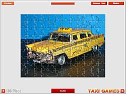 Russian Taxi Jigsaw game
