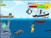 Tweety's Ocean Cleaning game