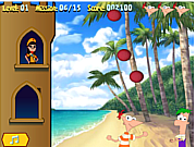 Phineas and Ferb Caribe Summer game