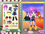 Cowgirl Dressup game