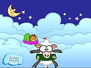Garfield's Sheep Shot game