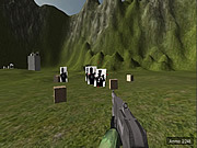Unity Shooting Range game