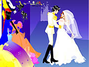 Colorful Wedding Dressup game