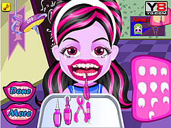 Baby Monster Teeth Problems game