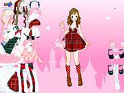 Play Stockings dress up Game