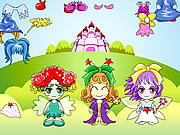 jeu Three Fairy Dressup