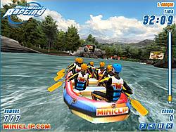White Water Rafting game