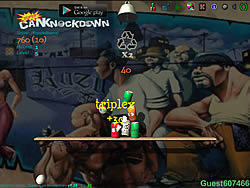 Super Can Knockdown game