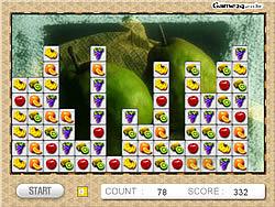 Fruit Blocks game