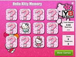 Hello Kitty Memory Free Game game
