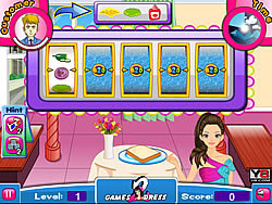Barbie Sandwich Shop game