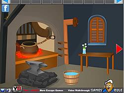 Underground Room Escape game