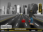 On Street Boarding game
