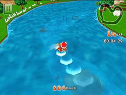 Superman Boat game