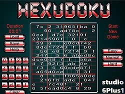 Hexudoku game