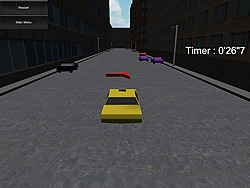 Taxi Rush Hours game