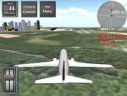 Flight Simulator Boeing 737-400 Sim oyunu