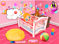 Baby Lizzie Caring game