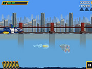Mega Zord Rush game