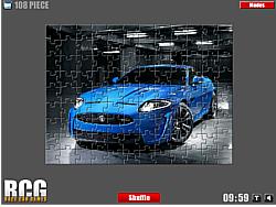 Jaguar Jigsaw game