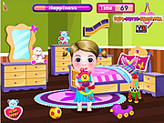 เล่นเกมฟรี Baby Hazel and Liam Valentines Day