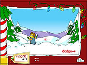 Springfield Snow Fight game