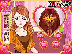 Valentines Day Hairdos game