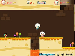 Baby Candy House game