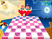 Play Checkers of alice in wonderland Game