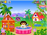 Dora Fun Bathing game