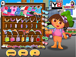 Dora Valentine Shopping game