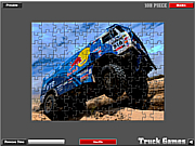 Dakar Truck Jigsaw game
