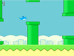gra Flappy Blue Bird