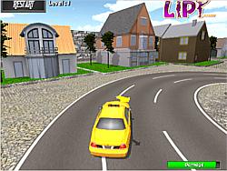 Taxi Parking 3d game