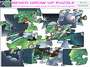Never Grow Up Puzzle game