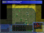 Play Tank wars rts Game