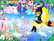 Cute Witch Dress Up game