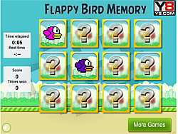 Flappy Bird Memory game
