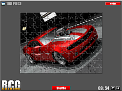 Chevrolet Car Jigsaw game