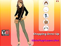 Shopping Dress Up game