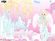 White Angel Dress Up game