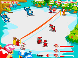 Snow Throw game