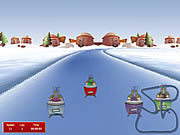 Christmas Race game
