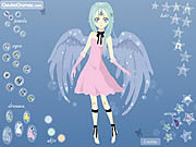 Sad Fairy Dressup game