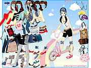 Scooter Dressup game