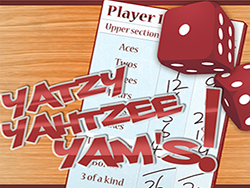 Yatzy Yahtzee Yams game