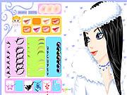 Winter Girl Makeup game