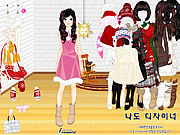 Sweet Holiday Girl game