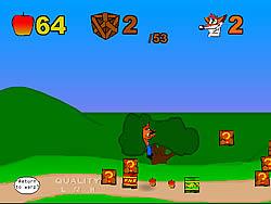 gra Crash Bandicoot